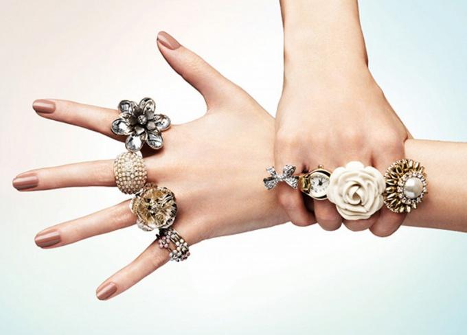 Как по этикету правильно носить кольца