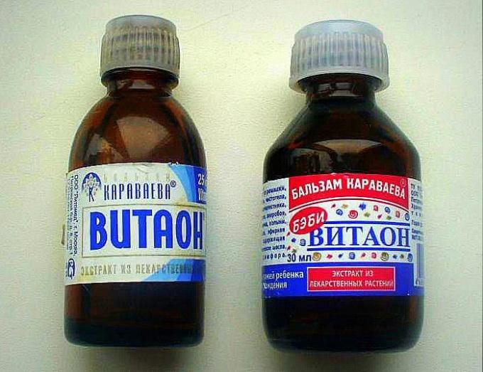«Витаон» доктора Караваева – один из серии бальзамов, который выпускается в различных модификациях