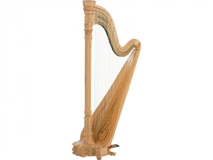 К каким музыкальным инструментам относится арфа