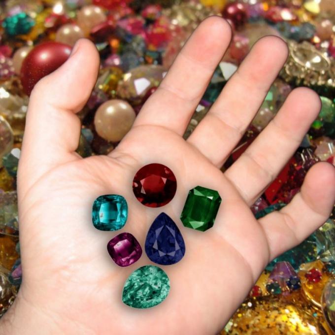 Выбор драгоценного камня