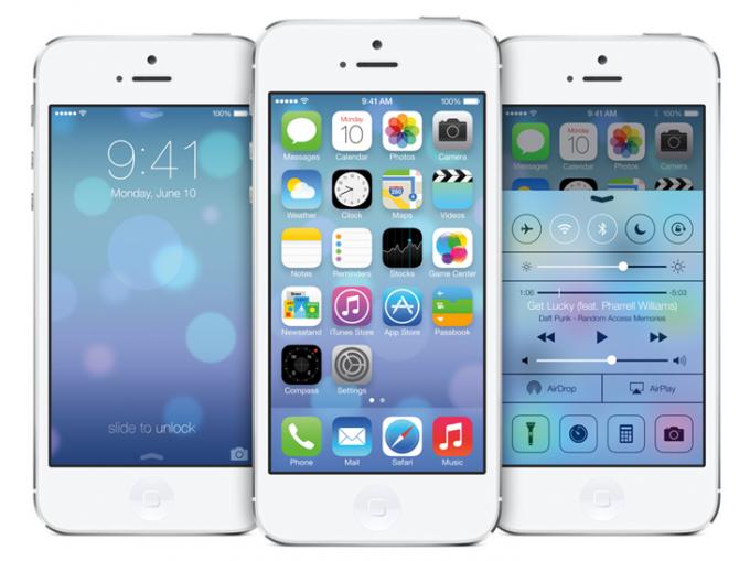 Как сменить обои в iPhone