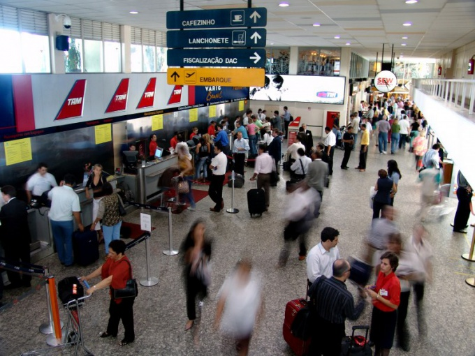 Online check-in saves time spent in the airport