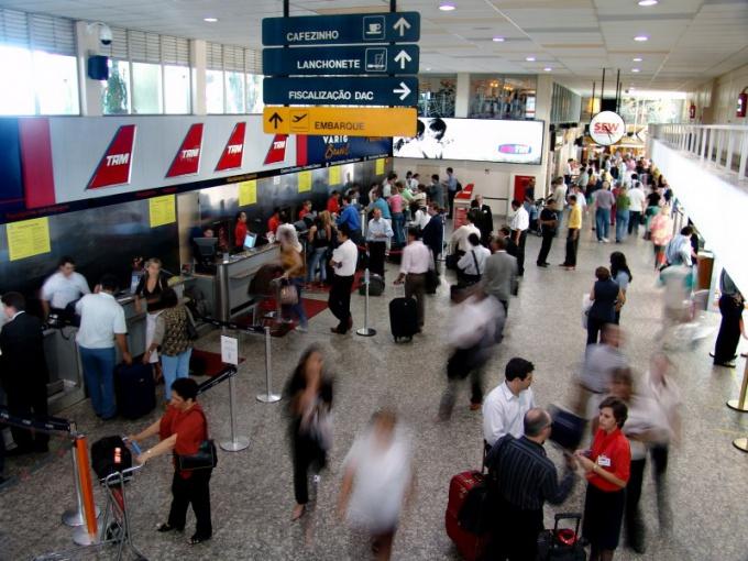 Онлайн-регистрация на рейс сэкономит время пребывания в аэропорту