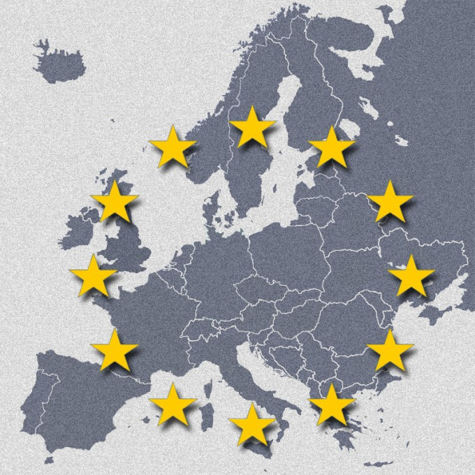 Политические границы государств Европы