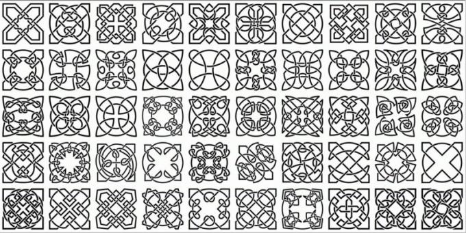 Мотивы для орнамента