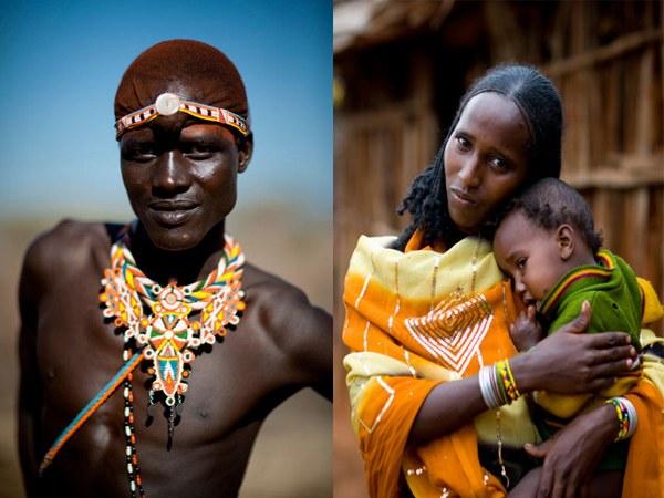 Люди племени дамара
