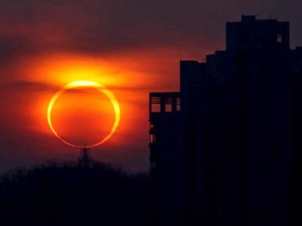 Как увидеть солнечное затмение