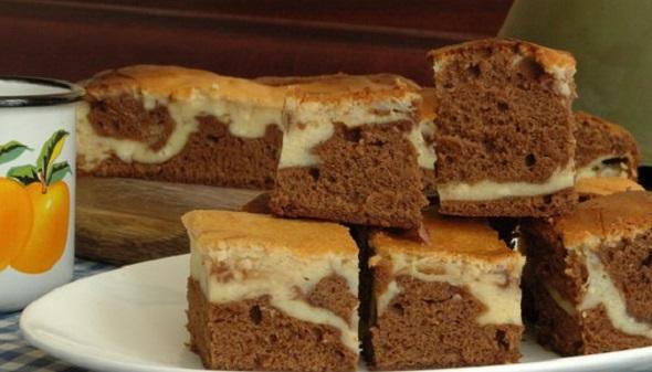 Как приготовить творожно-шоколадный пирог
