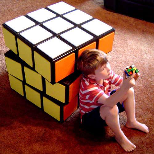 Как собрать угловые и ребёрные элементы в третьем слое кубика Рубика