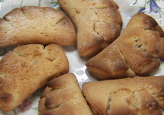 """творожное печенье """"Лапки"""""""