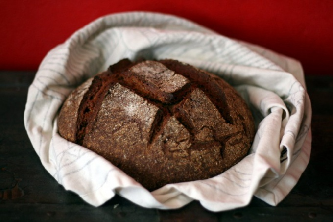 As for the bread maker to bake rye bread