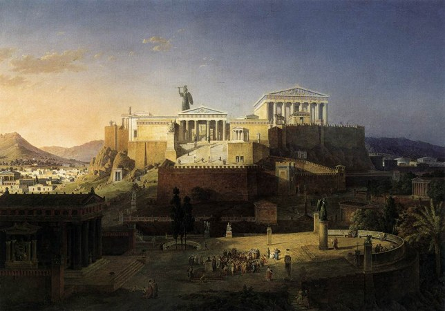 Где располагалась Древняя Греция
