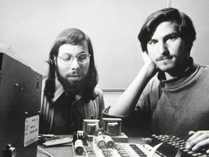 Стив Джобс и Стив Возняк