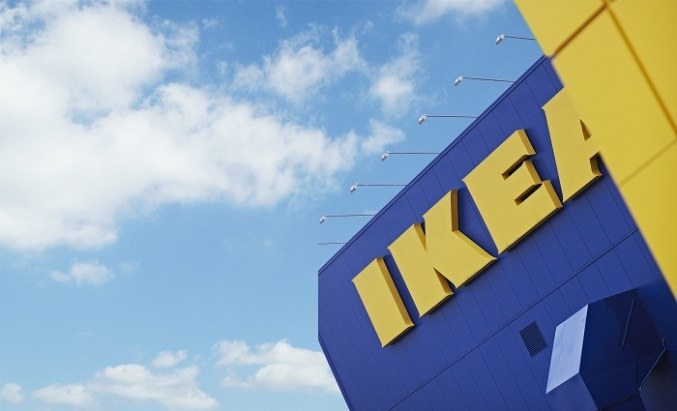 In what Russian cities there are shopping centers IKEA
