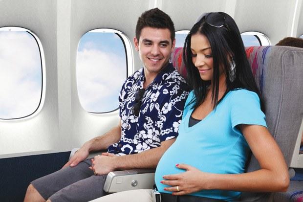 Как можно беременным лететь на самолете
