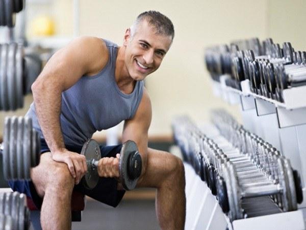 Тренировка с протеином