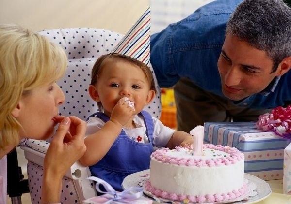 Как весело отметить первый день рождения малыша