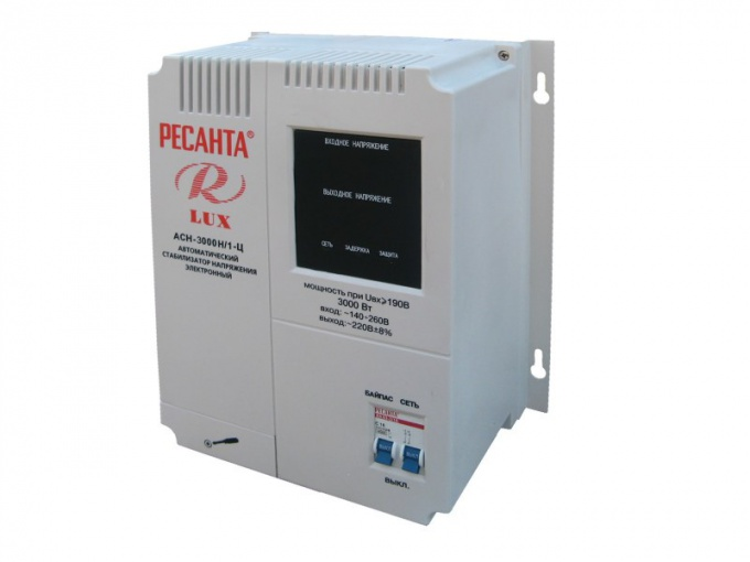 How to choose a voltage regulator for boiler BAXI