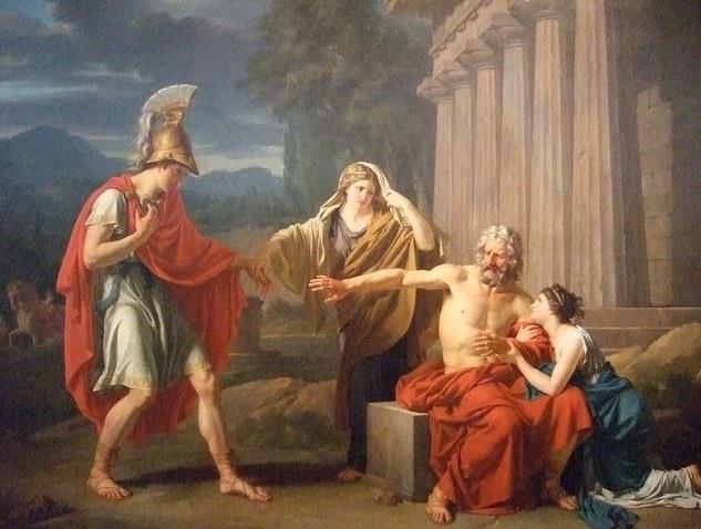 Эдип - древнегреческий герой, наказанный за близкородственный брак