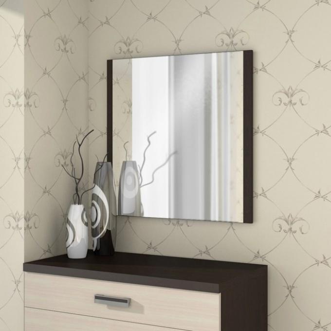 Как крепить зеркало на гипсокартон