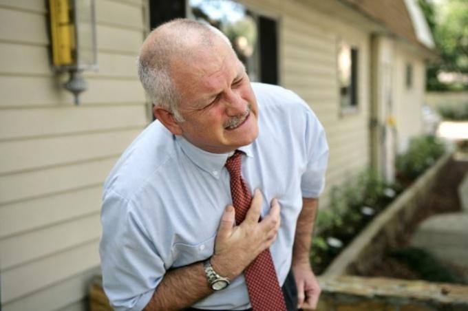 Боль в груди при вдохе