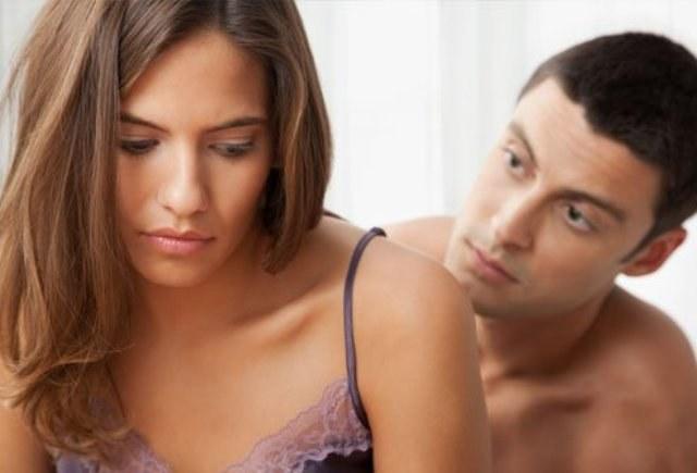 Неудовлетворенность после болезненного полового акта