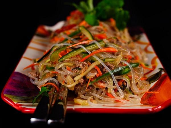 Salad recipes of Chinese noodles