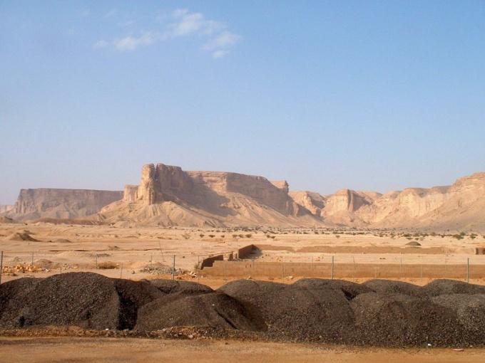 Где находиться Аравийское плоскогорье