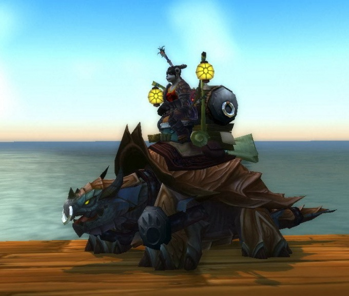 Riding skill in WoW