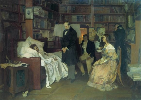 Смертельное ранение Пушкина