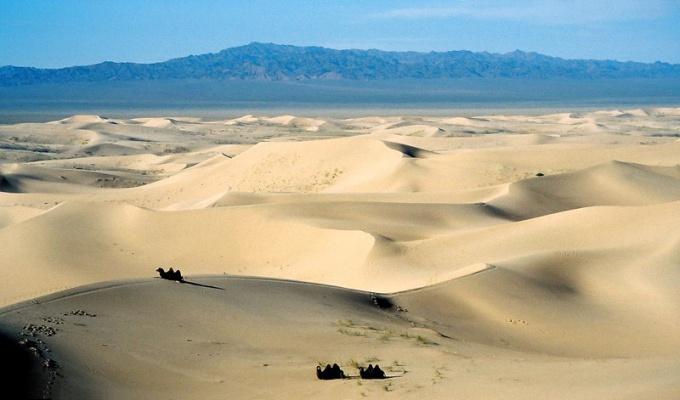 Где находится пустыня Гоби