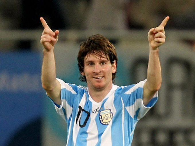 Lionel Messi has always dreamed of a blue and white shirt of Argentina national team
