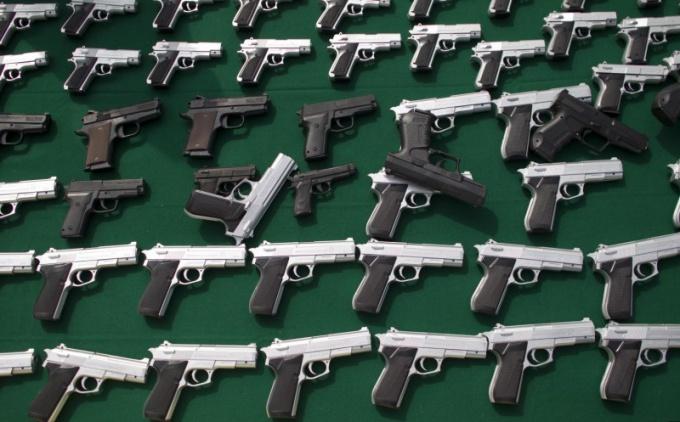 Где можно легально купить боевой пистолет