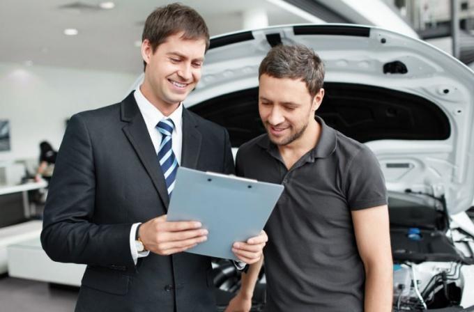 Автосалон - одно из перспективных мест для менеджера