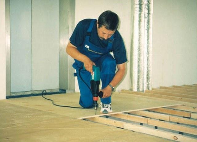 Как заменить деревянный пол в квартире