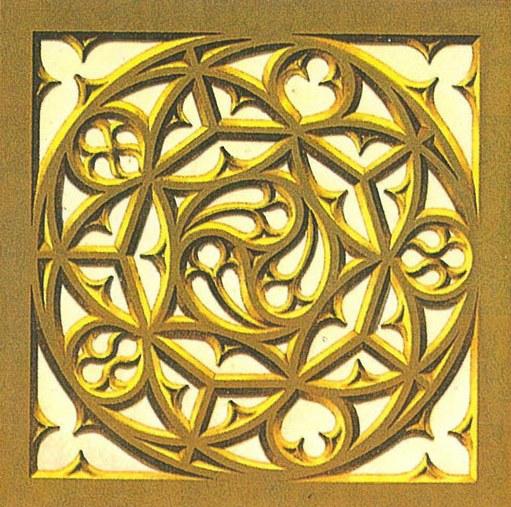Фрагмент готического орнамента