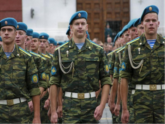 Going into military service, many conscripts wanted to get the airborne troops