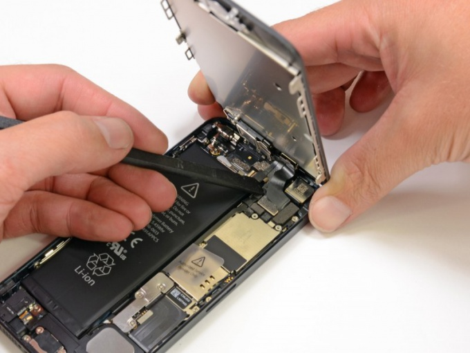 Как поменять экран iphone 4