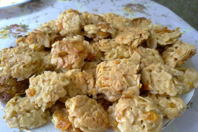 Как приготовить апельсиновое печенье на миндальных хлопьях