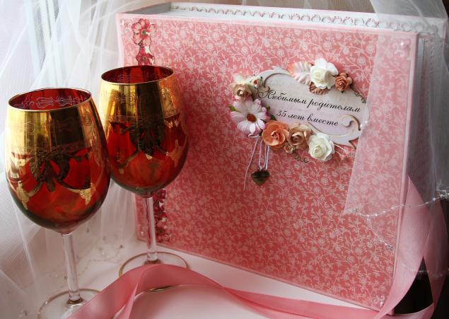Годовщина свадьбы 35 лет - Коралловая свадьба