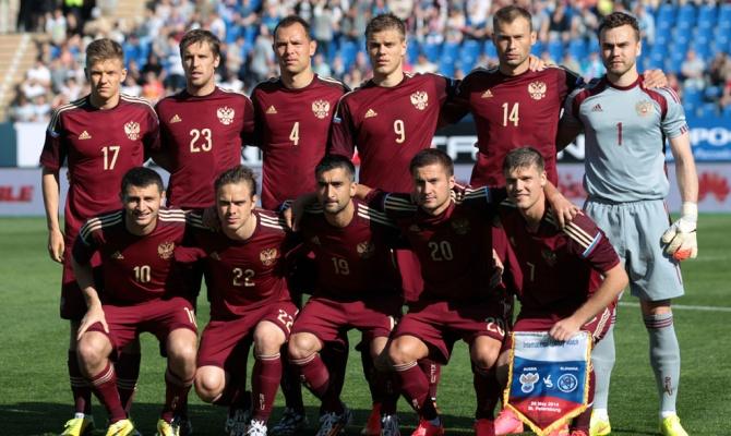 Чемпионат мира по футболу 2014 в Бразилии: состав сборной России