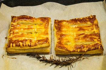 Яблочный пирог с розмарином