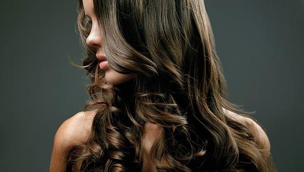 красивые распущенные волосы