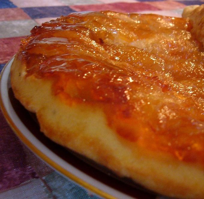 Французский пирог с абрикосами