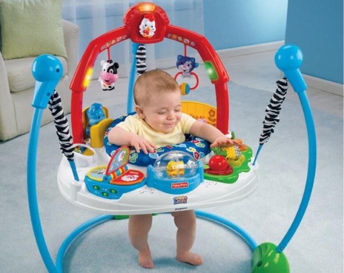 С какого возраста дозволено применять детские прыгунки