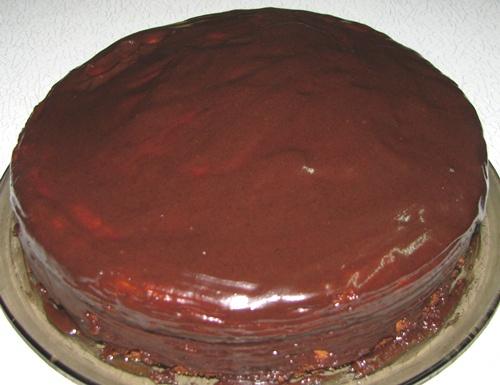 Помадка шоколадная для торта со сметаной