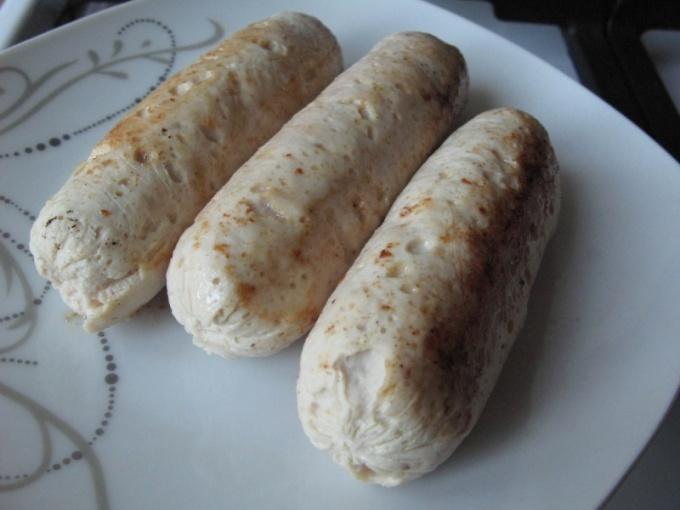 Handmade sausages Turkey