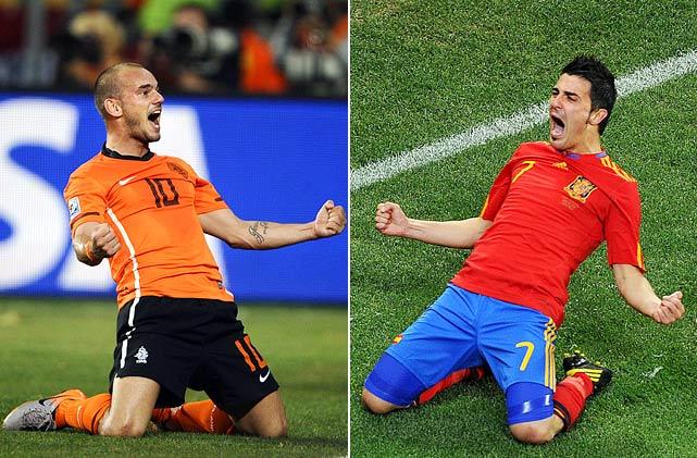 ЧМ 2014 по футболу: итоги встречи Испания - Нидерланды