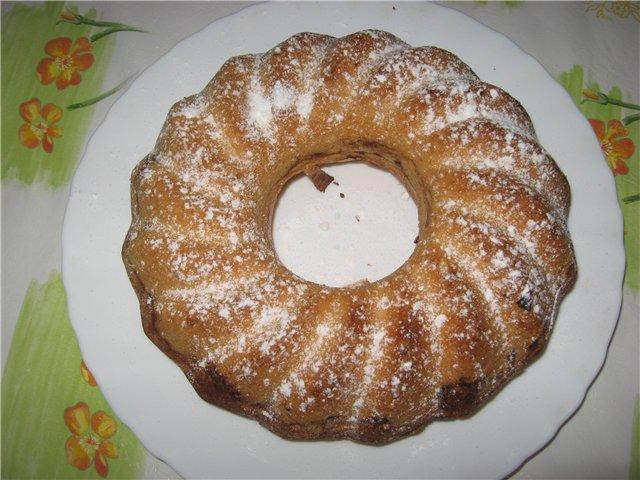 Сметанный кекс с корицей
