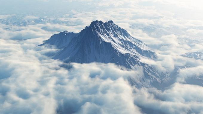 гора Олимп фото